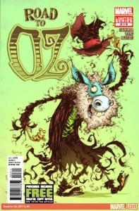 """""""The Wonderful Wizard of Oz"""" - okładka zeszytu #3"""