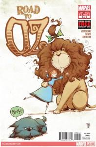 """""""The Wonderful Wizard of Oz"""" - okładka zeszytu #4"""