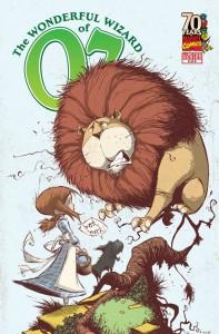 """""""The Wonderful Wizard of Oz"""" - okładka zeszytu #2"""