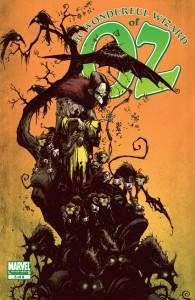 """""""The Wonderful Wizard of Oz"""" - okładka zeszytu #5"""