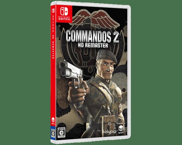 Commandos 2(Switch)パッケージ