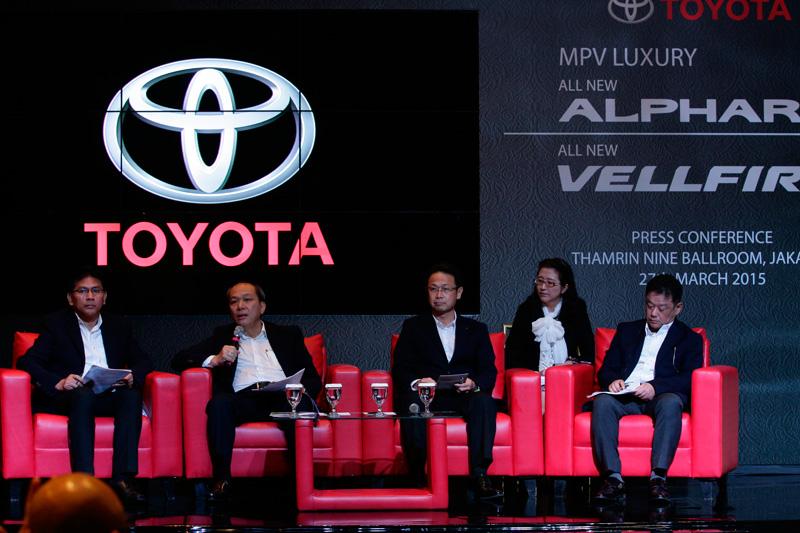 Allnew Toyota Alphard Allnew Toyota Vellfire Launching