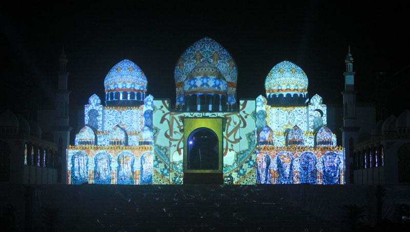 Opening Video Mapping Multimedia MTQ Kalsel
