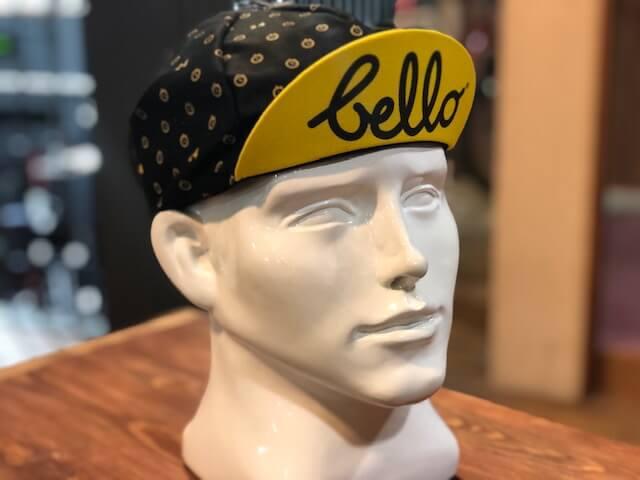 BELLO CYCLISTキャップ