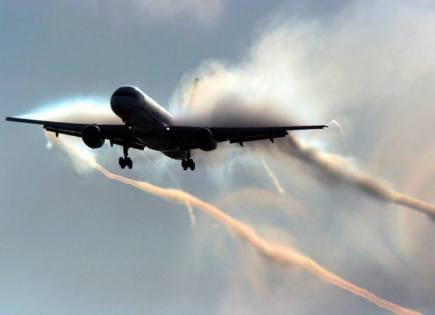 Letecká likvidace chemických odpadů