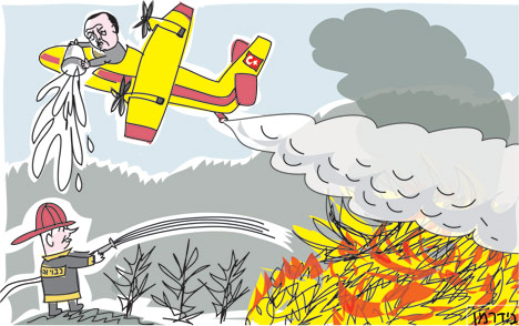 Image result for forest fire cartoon images