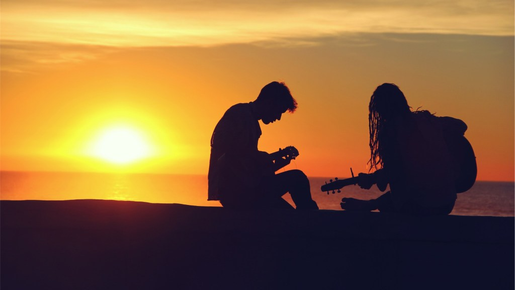 right people playing guitar
