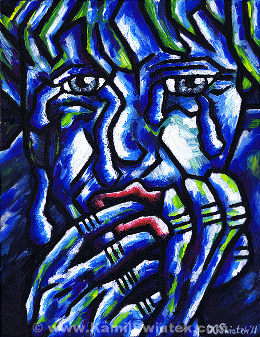 Weeping Child (2011) by Kamil Swiatek