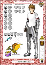 Photoshop, Dollars & Hydra Level 2 Boy Character Sheet, 2015