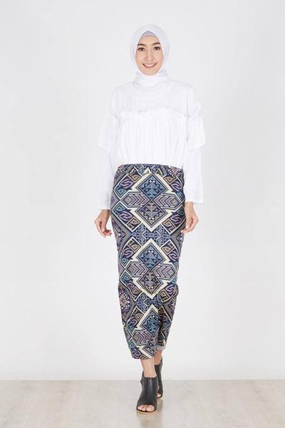 Model Rok Span : model, Model, Panjang, Batik, Paling, Recommended