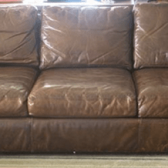 Restoring Leather Sofa Rose Bed Sofas And Chairs Decor Brown 3 Seater 1300