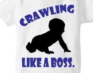 crawling like a boss