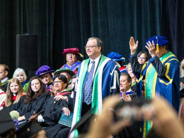 Brett Fairbairn installed as fourth TRU president