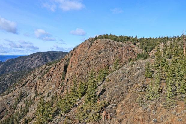 Castle Butte Ramble - Kamloops Trails