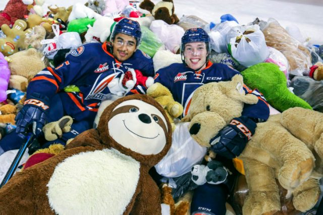 TEDDY BEAR TOSS NIGHT AS BLAZERS HOST WINTERHAWKS