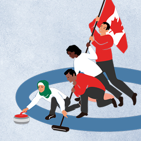 The New Canadian Curling Club: Rock the House
