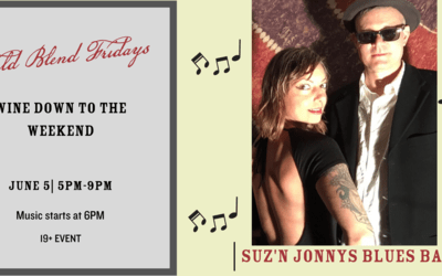 Field Blend Friday's With Suz N Jonnys Blues Band