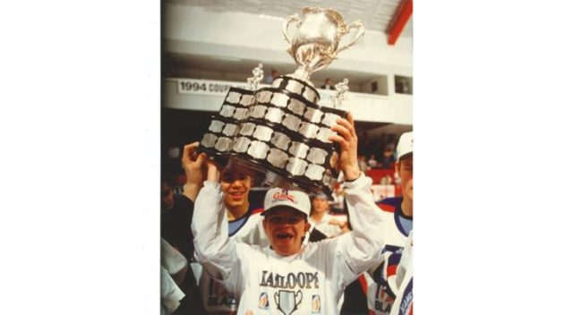 Memorial Cup anniversary — Tattle of Hastings: Start your party with spike, Blazers