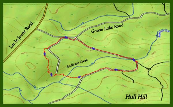 Anderson Creek Loop – Kamloops Trails