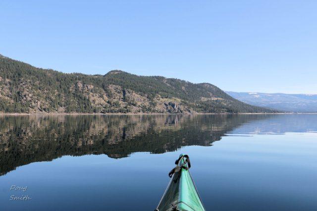 On Little Shuswap Lake - Kamloops Trails