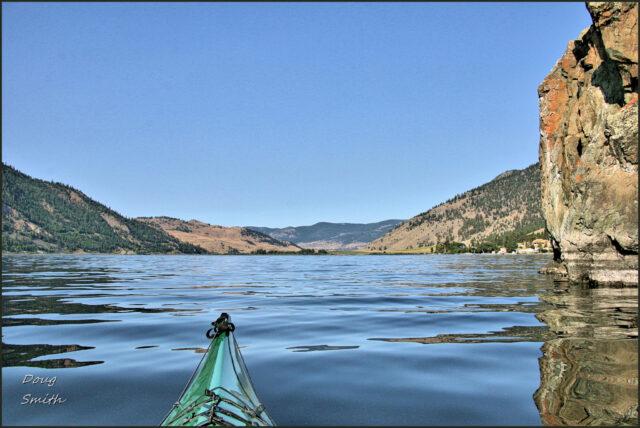 Paddling the West Shore of Nicola Lake