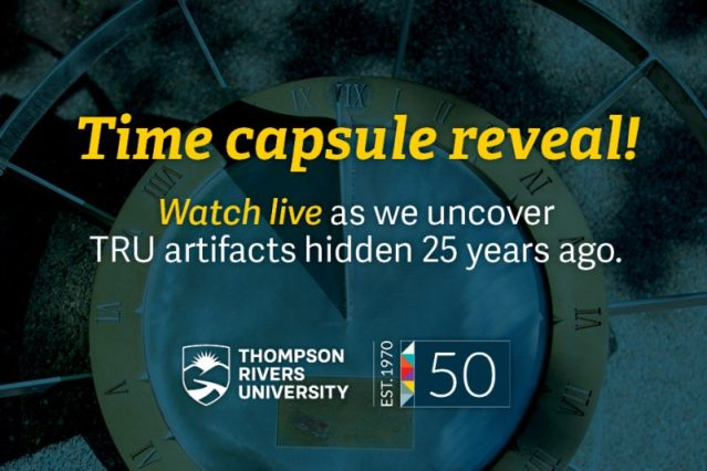 Time Capsule Reveal – TRU Newsroom