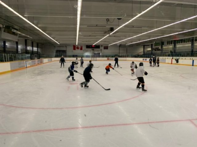Blazers Host Minor Hockey Players During Pro D Day