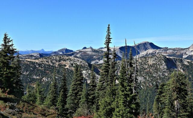 Zoa Peak in October - Kamloops Trails