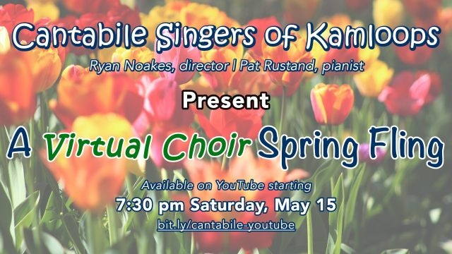 A Virtual Choir Spring Fling