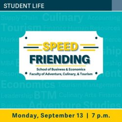Speed Friending for Business, Tourism, Adventure and Culinary – TRU Newsroom