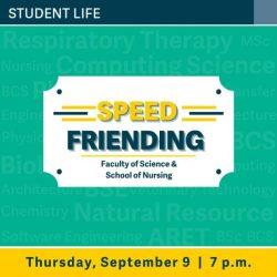 Speed Friending for Science and Nursing – TRU Newsroom