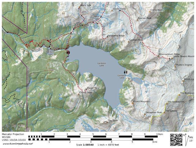 To Garibaldi Lake – Kamloops Trails
