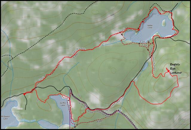 Forest Lakes Loop – Kamloops Trails