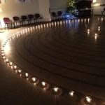 Labyrinth, candle light
