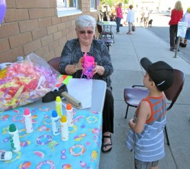 Celebrating the KUC Preschool and Out-of-School Care program. Thanks for the clever & fun crafts, Patti.