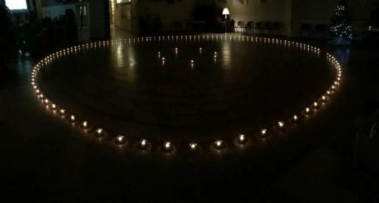 Winter Solstice Candlelight Labyrinth Walk, Dec. 21, 2015