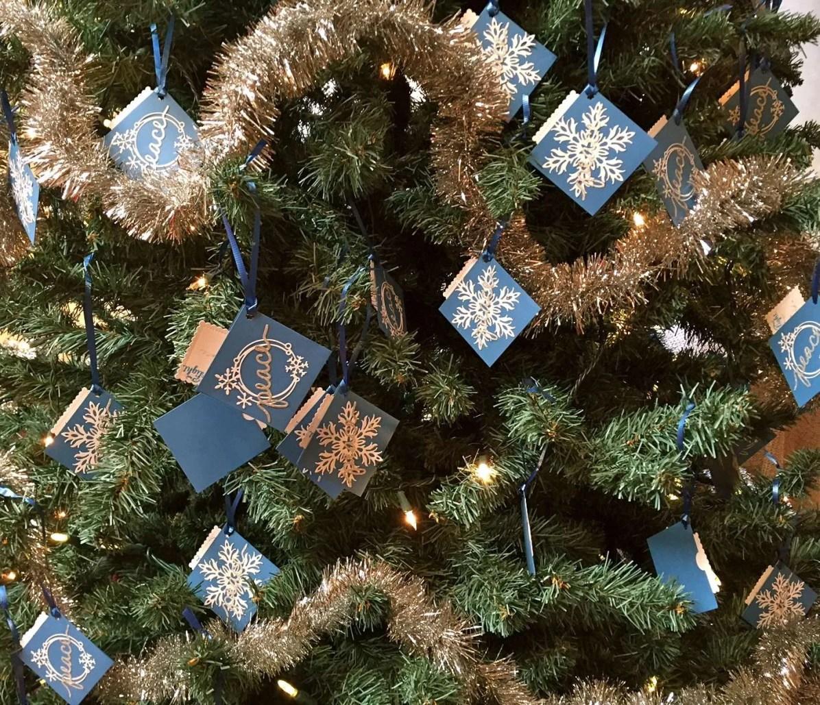 Advent Tree of Peace 2016
