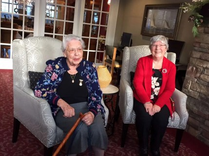 Muriel and Corinne
