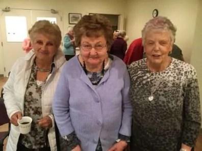 Rose, Maureen and Ingrid