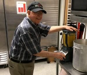 Gordon on soup duty!