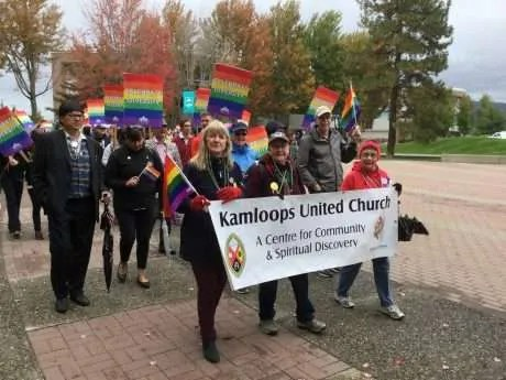 Good to walk for Pride at TRU