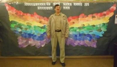 Rainbow wings.Dirk