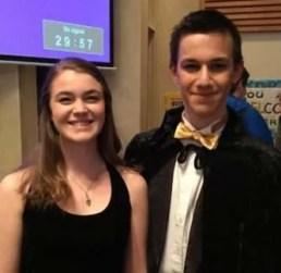 Phantom of the Opera soloists Mandy Maher and Ivan Vutev.