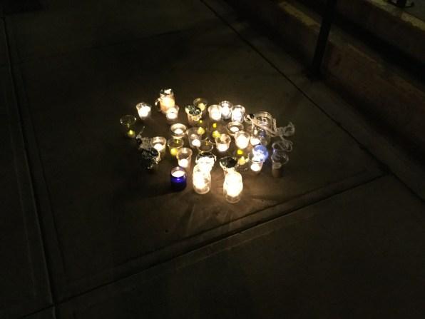 Vigil candles