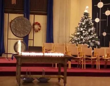 Blue Christmas, sanctuary