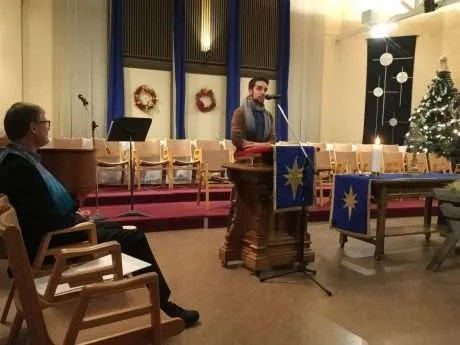 Jaris shared a reflection on Christmas Eve