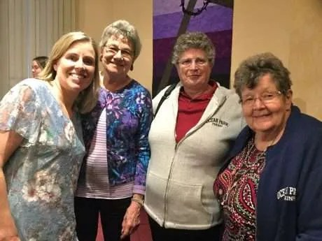 Syd, Jean, Sandy and Karen