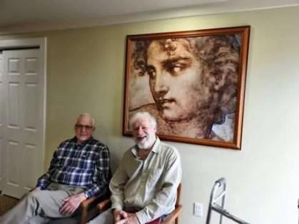 Roy Simmonds and Rob Lyall