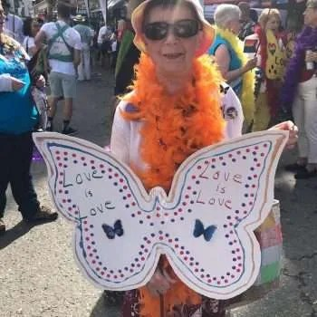 The butterflies were a hit. Nice one, Barb.