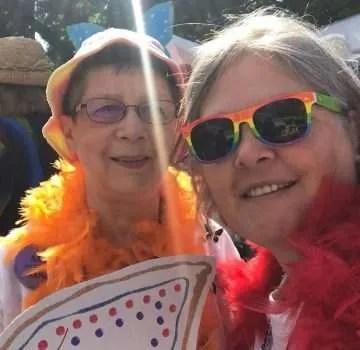 Barb and Tanja.